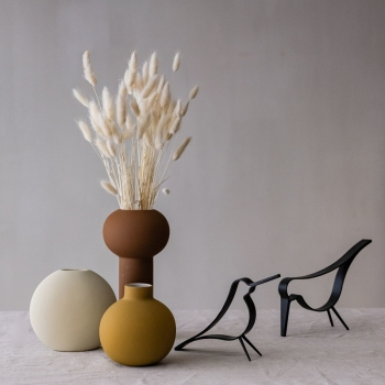 Cooee Design Bird Dekofigur Vogel black small