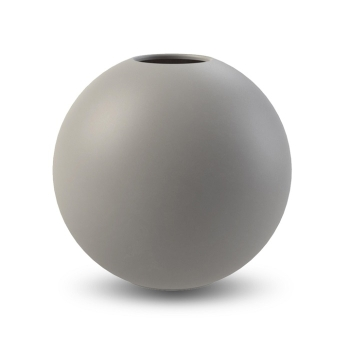 Cooee Design Vase Ball grau 8cm