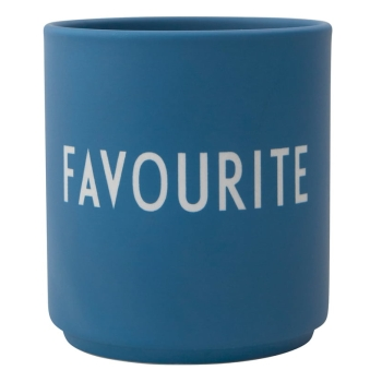Design Letters Becher Favourite blau