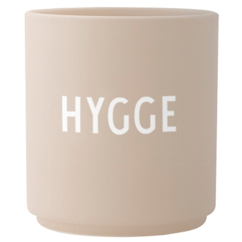 Design Letters Favourite Cup Hygge Becher Sand