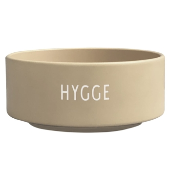 Design Letters Hygge Snack Bowl Sand