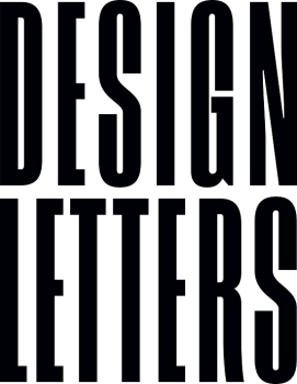 Design Letters Glas Buchstabe F