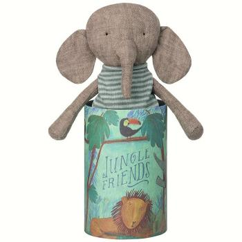 Maileg Elefant Jungle friends in Box