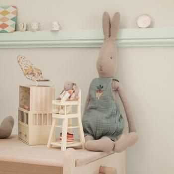Maileg Hase Rabbit Junge Size 4 Overall blau