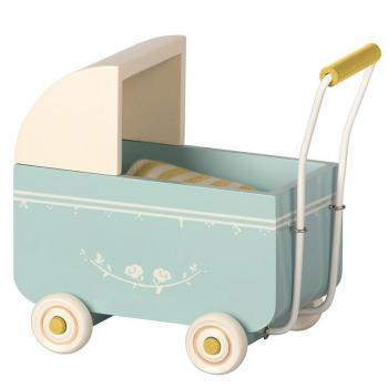 Maileg Kinderwagen My in Blau