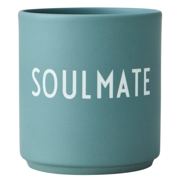 Design Letters Soulmate Favourite Cup Dusty green