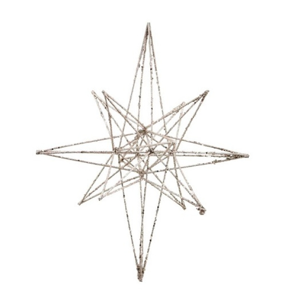 House Doctor Ornament Star Champagner 25cm